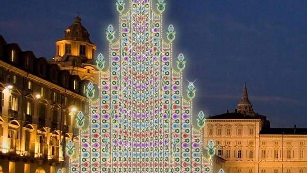 Albero di Natale in Piazza Castello - Torino
