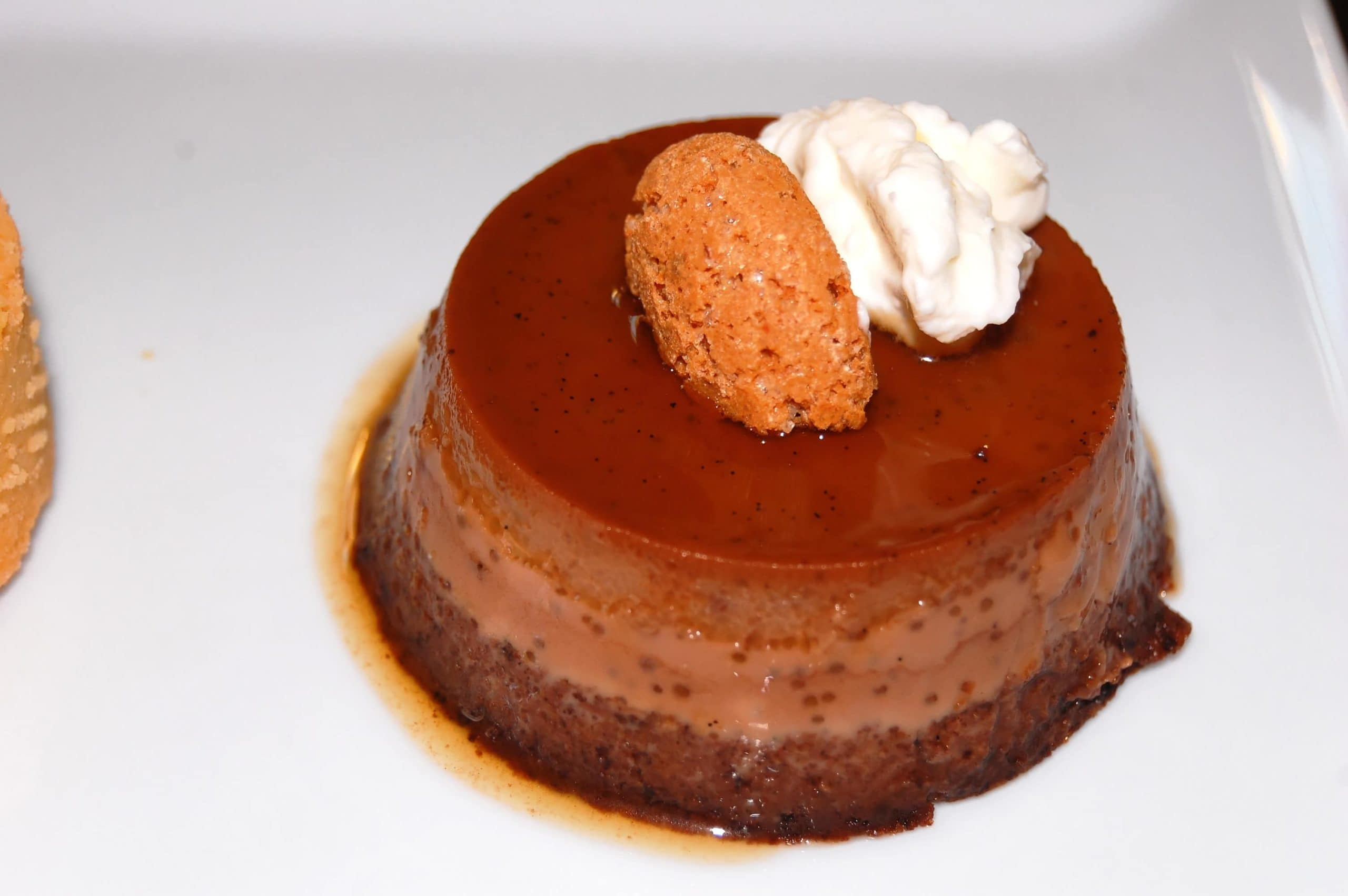 Bonet (Piedmont chocolate and amaretti biscuits pudding)